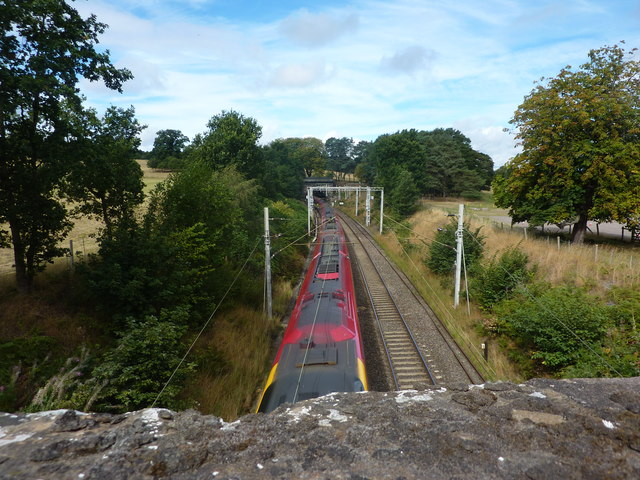 Express train at Shugborough