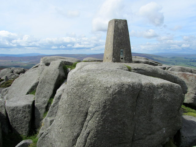 Trig Point on Simon's Seat
