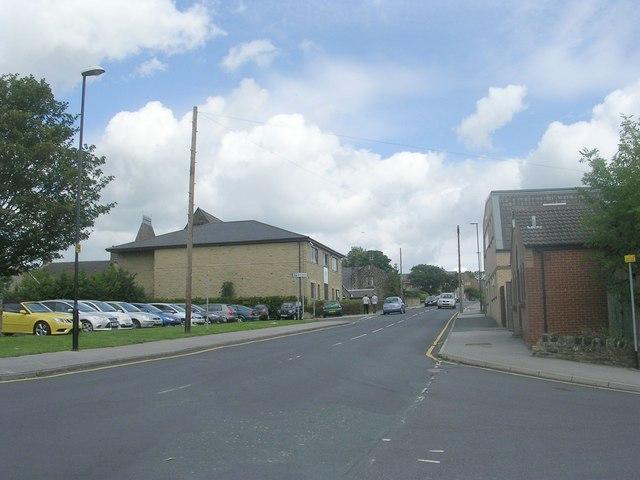 New Street - viewed from Drury Lane