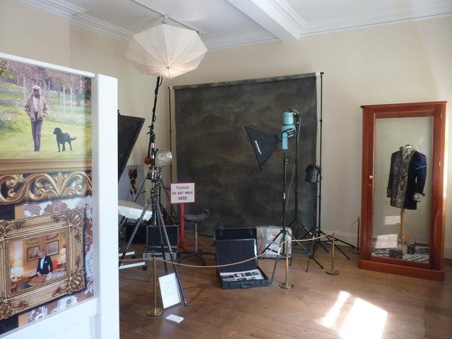 Patrick Lichfield's portrait studio, re-created