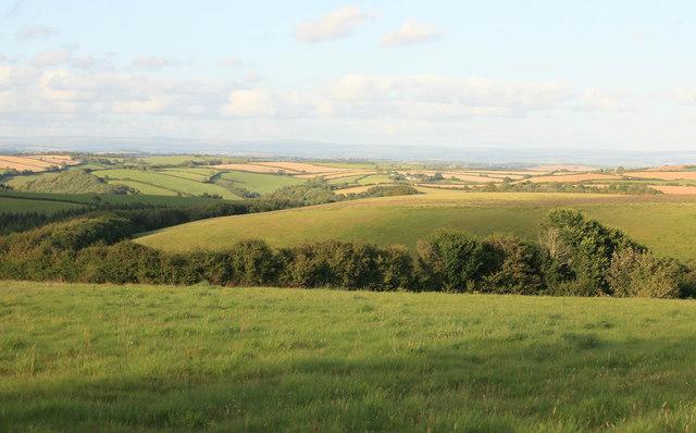Rural East Cornwall nr Bokenver farm