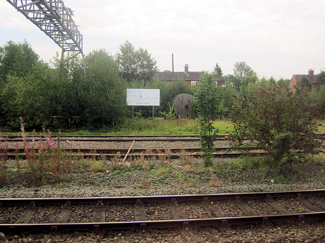 Crewe Yard behind Gresty Road