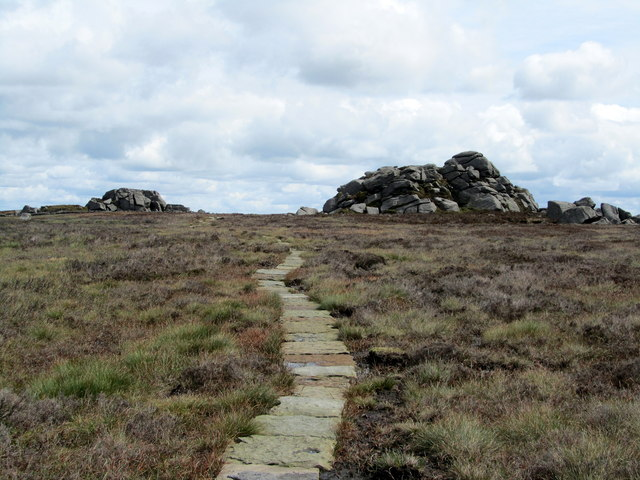 Approaching Lord's Seat