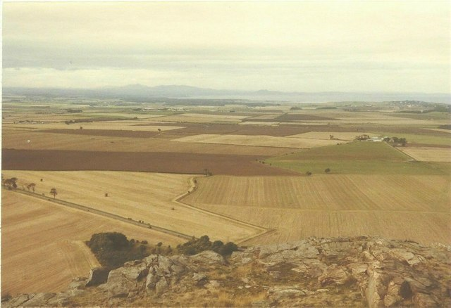 View from North Berwick Law in 1984