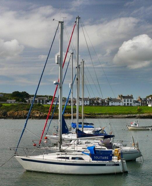 Isle of Whithorn Bay
