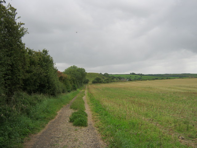 Bridleway leading to Running Waters