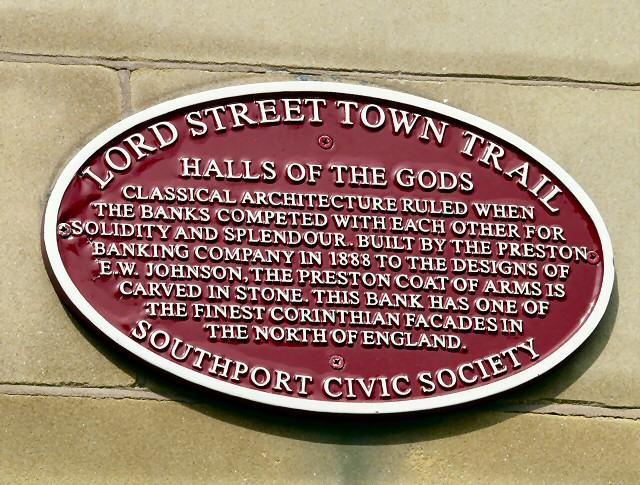 Town Trail Plaque