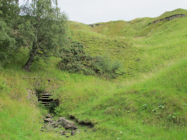Old level, Red Vein Mine