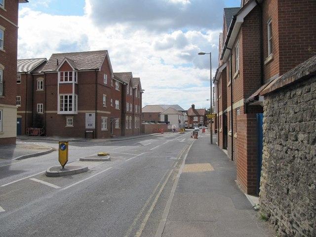 Towards Newbury Street