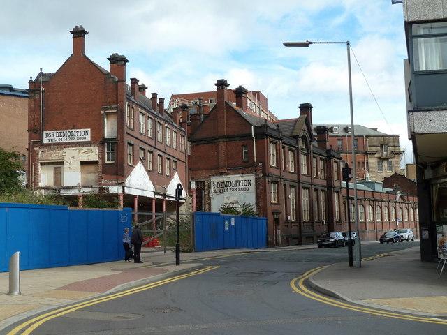 Pond Street, more changes under way in Sheffield