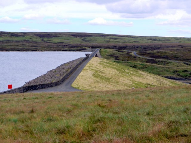 Cow Green Dam from the west