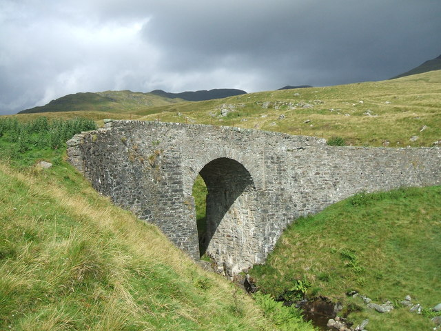 Bridge over Burn of Edramucky