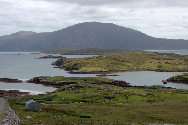 Loch Leosavay from above Abhainnsuidhe