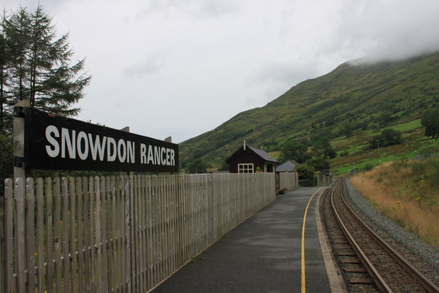 Snowdon Ranger station on the Welsh Highland Railway