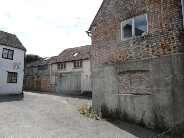 Yard along Church Street