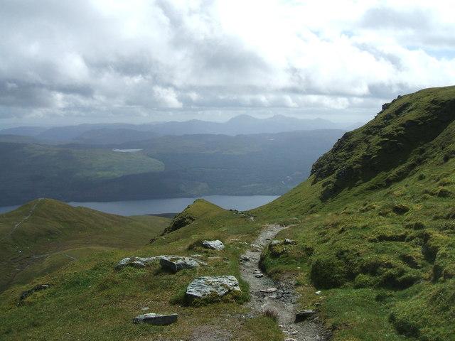 Meall nan Tarmachan hill path