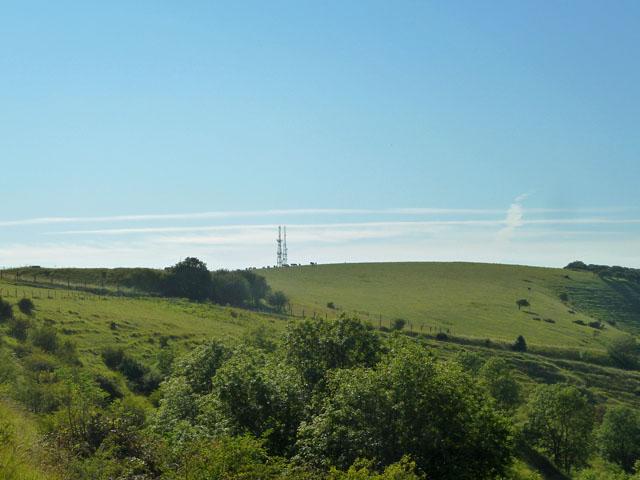 View towards Beddingham Hill