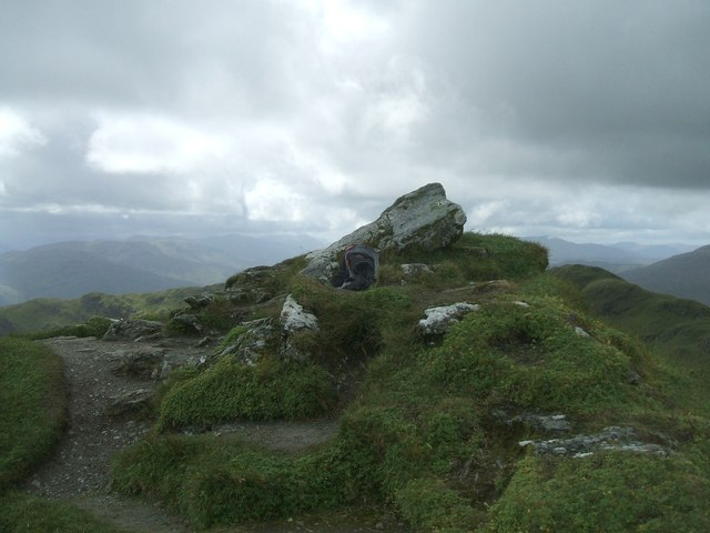 Summit of Meall Garbh