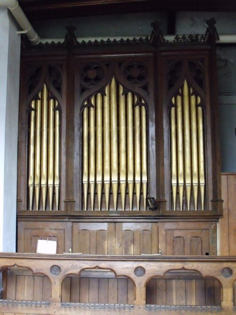 Organ in Billinghay Church
