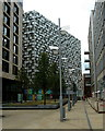SK3587 : Modern architecture, Sheffield city centre by Andrew Hill