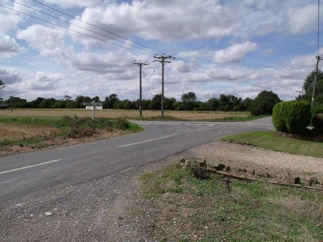 Crossroads near Billinghay