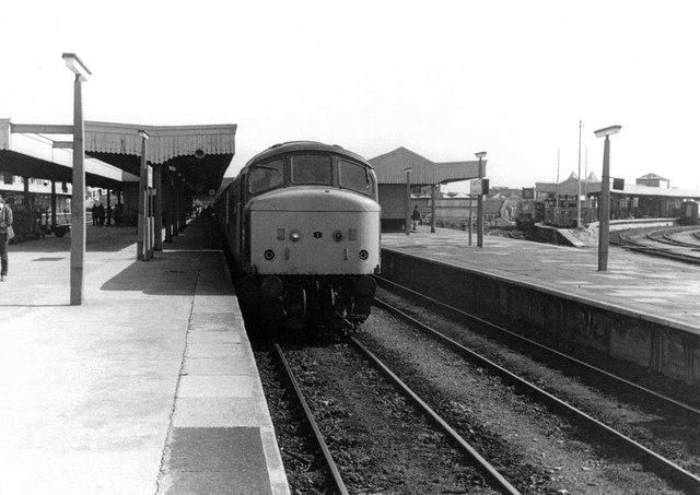 'Peak' Diesel at Cardiff, 1983