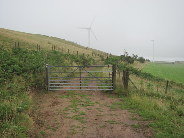 Gate on the Ridgeway Walk