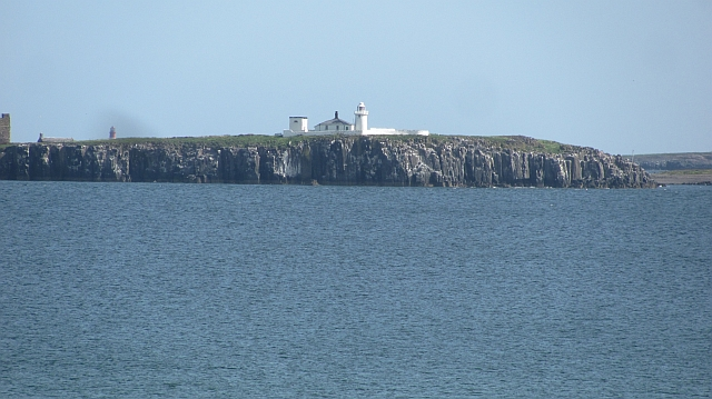 Inner Farne and lighthouse