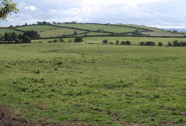 Looking towards Heathwaite Hill