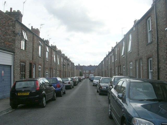 Sutherland Street - viewed from Passage off Jamieson Street