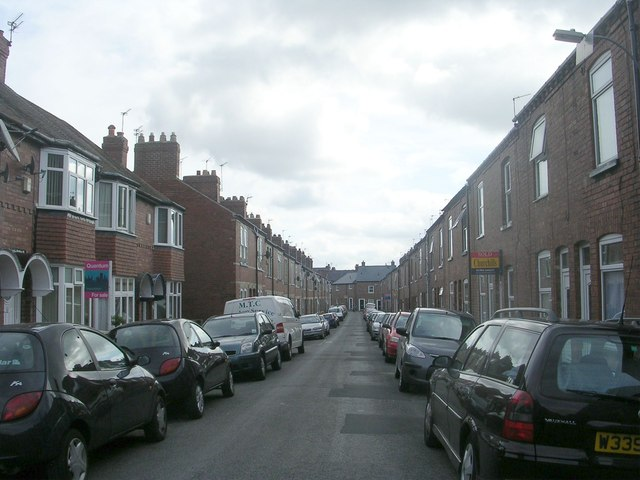 Brunswick Street - viewed from Passage off Jamieson Street