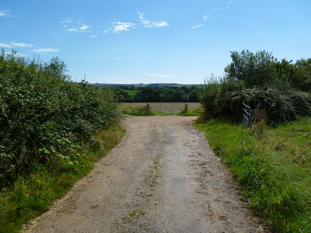 Sturthill, bridleway junction