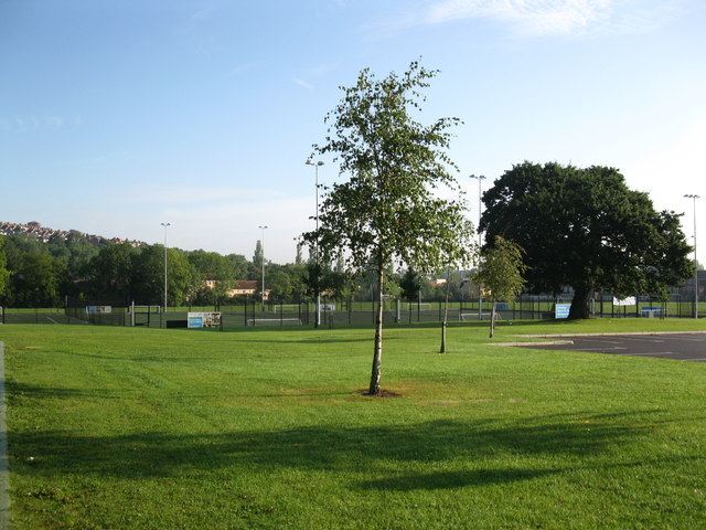 All-weather pitches at the South Bristol Sports Centre