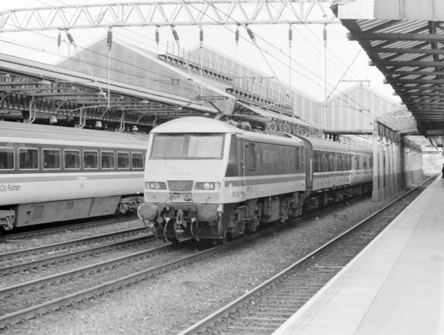 Non-stop Through Crewe, 1989