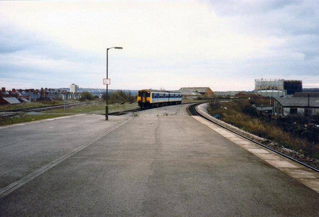 """Sprinter"" Near Grangetown Station, 1988"