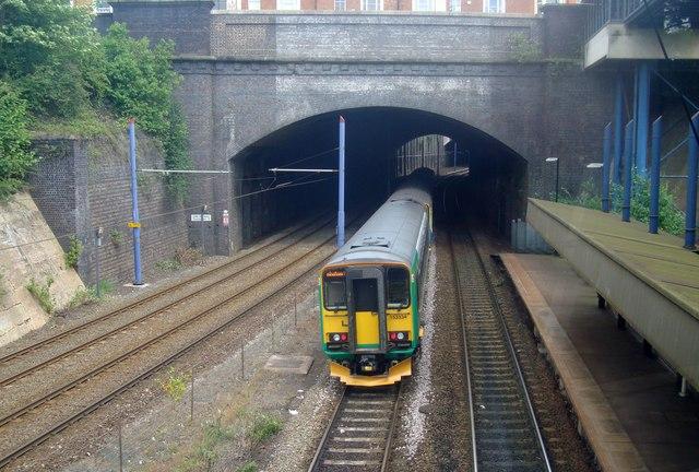 Railway Tunnel Near Jewellery Quarter Station