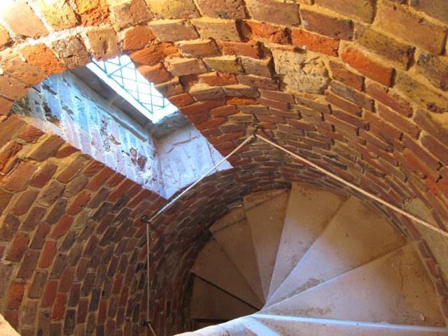 Tower spiral stair