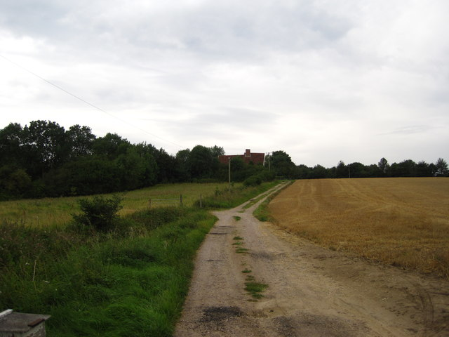 Track to Hill Farm