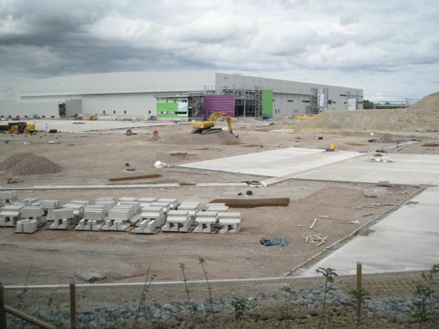 Distribution complex under construction