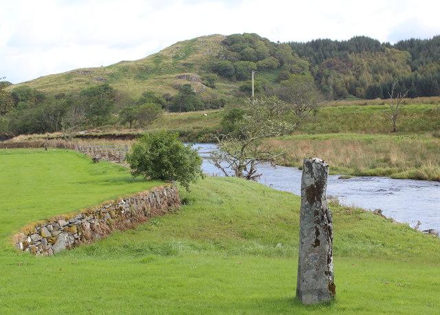 Standing Stone.  Dunadd