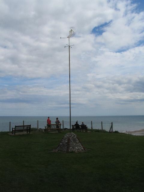 East Runton Surfers' Memorial