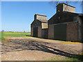 TL6055 : Barns by Balsham Lane by Hugh Venables