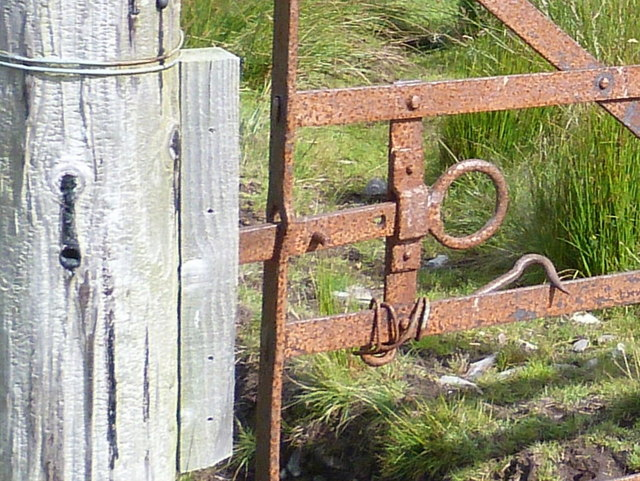 Old gate latch, Gruinards Estate