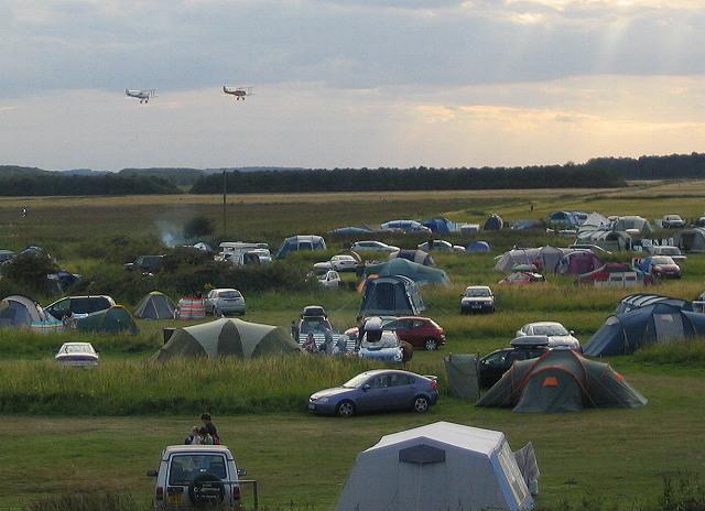 Campsite and bi-planes