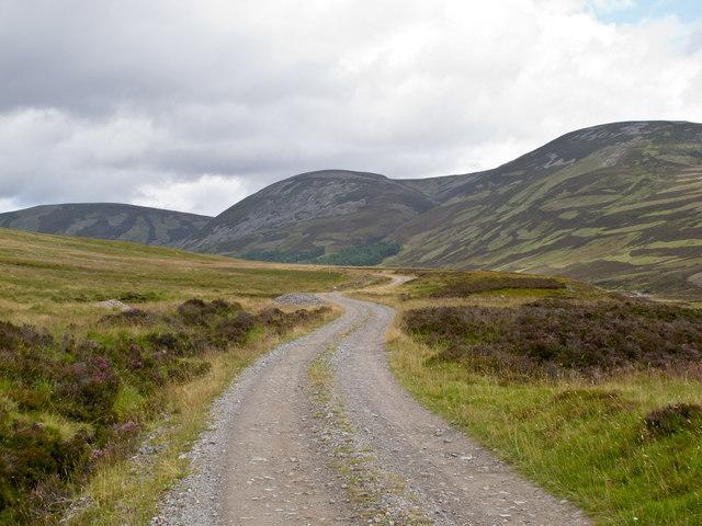 Track in Glen Bruar