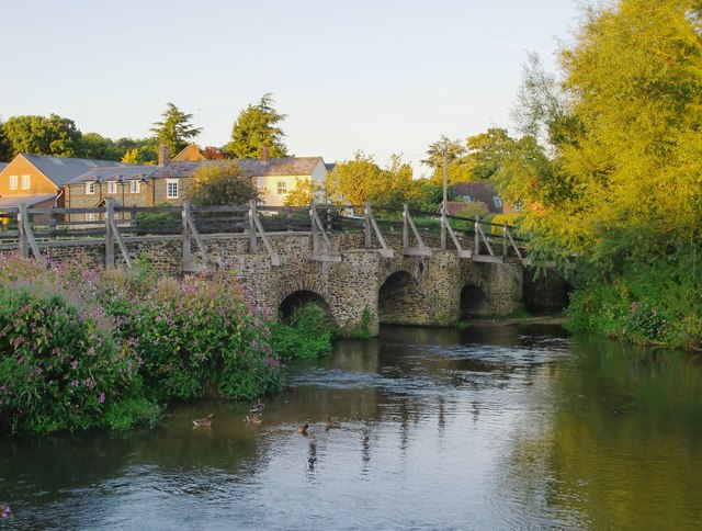 The Packhorse Bridge, Tilford