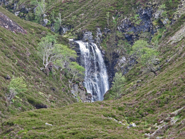 Waterfall on the Allt Beinn Losgarnaich