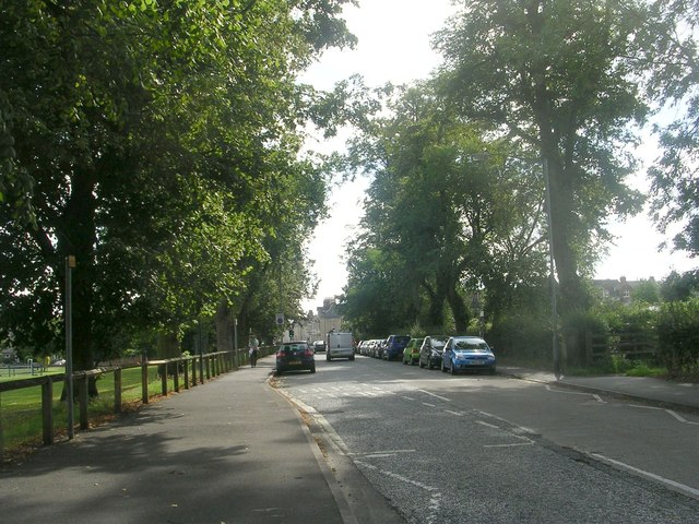 Scarcroft Road - viewed from Scarcroft Hill