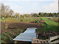 TL4364 : Allotments off Cottenham Road by Hugh Venables