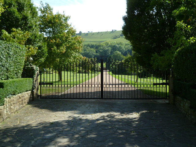 Gateway to Canonberries in Fulking
